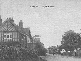 Great Blakenham Village and Pub Kindly supplied by Mr & Mrs R Hood