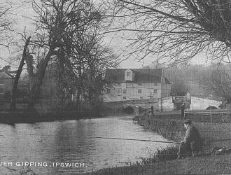 The Mill, River Gipping, Great Blakemham Kindly supplied by Mr & Mrs R Hood