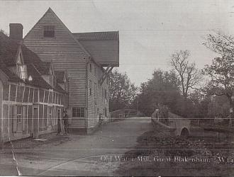 Great Blakenham Water Mill, Kindly supplied by Mr & Mrs R Hood