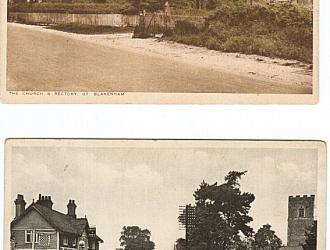 Great Blakenham Postcards, Kindly supplied by Mr & Mrs R Hood